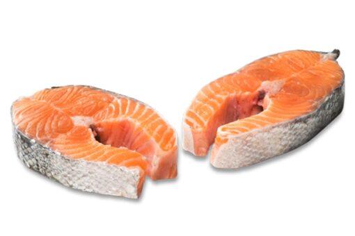 salmó a rondanxes salmón a rodajas