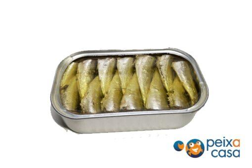 Sardinetes mini en oli d'oliva