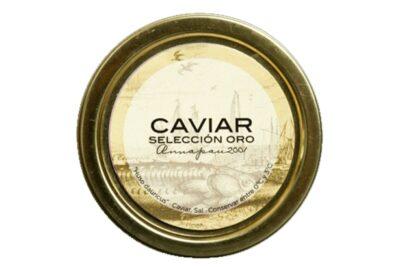 Caviar selección oro en lata de 30 g