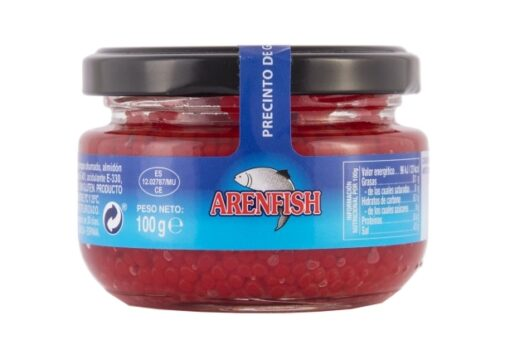 sucedáneo de caviar rojo arenfish