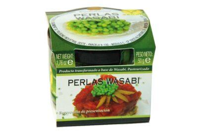 Perlas de wasabi, perles de wasabi esferificaciones