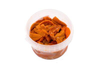 Carne de erizo huevas de erizo garoina carn d'eriço
